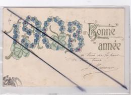 Bonne Année 1903 (les Chiffres Sont Gaufrés -carte Précurseur) - New Year