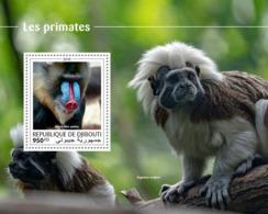 Djibouti 2018 Fauna Primates Monkeys S201810 - Djibouti (1977-...)