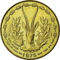 Monnaie, West African States, 10 Francs, 1975, SUP, Aluminum-Nickel-Bronze - Côte-d'Ivoire