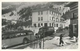 64)   GOURETTE  -  Hotel Edelweis  (  Autobus De Dax  - Pouillon - Peyrehorade  ) - France