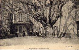 83)   AUPS    -  Hôtel   Du   Cours - Aups