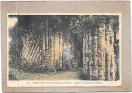 SAINT VALERY SUR SOMME - 80 -  CPA COLORISEE - Ruines De L'Ancienne Abbaye   - DELC6** -- - Saint Valery Sur Somme