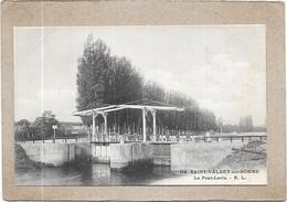SAINT VALERY SUR SOMME - 80 -  Le Pont Levis   - DELC6** -- - Saint Valery Sur Somme