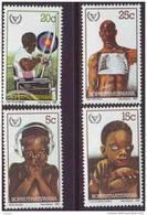 D90819 Bophuthatswana South Africa 1981 DISABILITY BLIND DEAF MNH Set - Afrique Du Sud Afrika RSA Sudafrika - Bophuthatswana