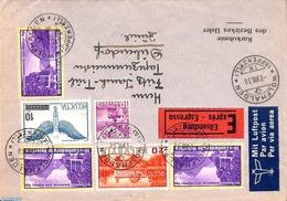 Switzerland 1938 Airmail Express Letter From Wolfhalden To Zürich, (Postal History) - Switzerland