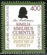 BRD - Mi 1880 - ** Postfrisch (A) - 400Pf       200 Jahre Homöopathie - BRD