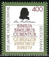 BRD - Mi 1880 - ** Postfrisch (D) - 400Pf       200 Jahre Homöopathie - BRD