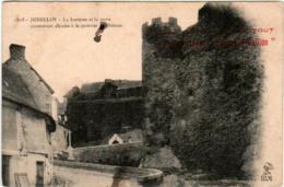 41iz 1835 CPA - JOSSELIN - LA FONTAINE ET LE CROIX - Josselin