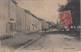 CPA 70 Haute Saône - CORRE - Rue De La Gare - Autres Communes