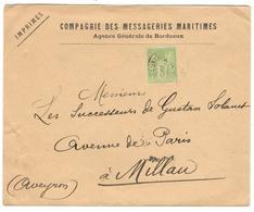 10080 - Perforé  MM - Marcophilie (Lettres)