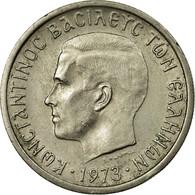 Monnaie, Grèce, Constantine II, 2 Drachmai, 1973, TTB, Copper-nickel, KM:99 - Grèce