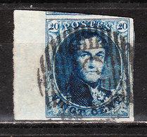 7 (ou 11)  Médaillon Non Dentelé - Grand Bord De Feuille - Oblit. - LOOK!!!! - 1851-1857 Medaillen (6/8)