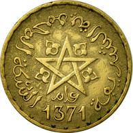 Monnaie, Maroc, Mohammed V, 10 Francs, AH 1371/1952, Paris, TTB - Maroc