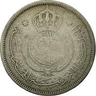 Monnaie, Jordan, Hussein, 50 Fils, 1/2 Dirham, 1962, B+, Copper-nickel, KM:11 - Jordan