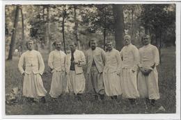 78 ROSNY . 4ème Légion De Zouaves , Carte-Photo , édit : Sans , écrite En 1907 ,  état Petit Trou De Punaise Sinon Extra - Rosny Sur Seine