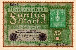 50 Mark   1923 ( Berlin Juin 1919 )) - [ 3] 1918-1933: Weimarrepubliek