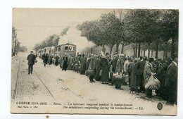 CPA  51 :  Reims  Train CBR  Guerre 14-18     A  VOIR  !!!!!! - Reims