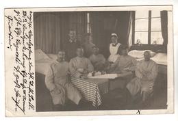 + 1980, FOTO-AK, WK I, Feldpost, Lazarett, Sanitäter - Guerre 1914-18