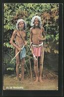 """AK """"Veddahs"""", Indios Mit Pfeil Und Bogen - Indianer"""