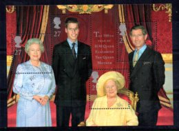 Great Britain - 2000 - Queen Mother's 100th Birthday Miniature Sheet - Used - 1952-.... (Elizabeth II)