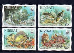 Kiribati - 1985 - Reef Fishes - MNH - Kiribati (1979-...)