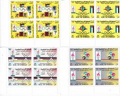 Jordan 1996, Olympic Game Atalanta 4v.complete Set MNH In BLOC'S OF 4, Reduced Price- Scarce - SKRILL PAY ONLY - Jordan