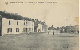 PETIT-COURCELLES : La Place Vers La Rue Du Petit-Courcelles - Courcelles