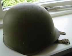 Complete Steel Helmet 1957 Russian Army USSR Period See Pictures - Headpieces, Headdresses