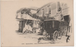 CP ( Marlotte - Hotel De La Renaissance - La Cour ) Carte Précurseur - France