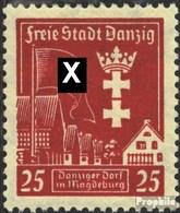Danzig 274Y Postfrisch 1937 Magdeburg - Danzig