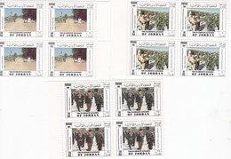 Jordan 1994, Peace Keeping Participation 3v.,cpl.set MNH In BLOC'S OF 4 Corner - Scarce- Red. Price- SKRILL ONLY - Jordan
