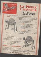 Vesoul (70 Haute Saône) Prospectus DOLLE Meule, à Moteur  (PPP9739) - Advertising