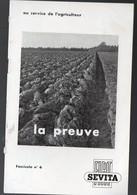 """Plaquette FIAT SEVITA """"au Service De L'agriculteur"""" (machines Agricoles) (PPP9740) - Publicités"""