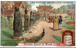 CHROMO - LIEBIG -  PALAIS IMPERIAUX CHINOIS- PROCESSION DES FONCTIONNAIRES - - Liebig