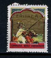 Italie  Cinderella Militaire  Erithrea Compagnia Reali Carabinier - Altri
