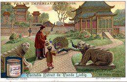 CHROMO - LIEBIG -  PALAIS IMPERIAUX CHINOIS-   PAVILLON D HABITATION DU PALAIS D HIVER - Liebig