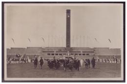 DT-Reich (006758) Propagandakarte, Der Führer Schreitet Zur Eröffnung Des Olympia- Stadions, Gelaufen Mit SST Berlin - Deutschland