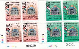 Jordan 1993, Salt Municipality 2v.comoplete Set MHBin BLOC'S OF 4 CORNER - Red. Pr. SKRILL PAY ONLY - Jordan