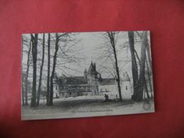 Reparation Echafaudage Chateau De Brouillamnon - France