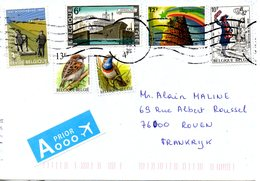 BELGIQUE. N°2053 De 1982 Sur Enveloppe Ayant Circulé. Esperanto. - Esperanto