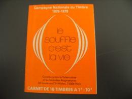 Carnet Erinnophilie Le Souffle C Est La Vie 1978 Vignette Timbre - Erinnophilie