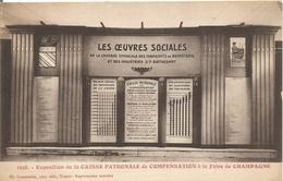 10 TROYES Exposition De La Caisse Patronale De Conpensation A La Foire De Champagne - Troyes