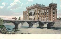 SARAJEVO - Rathhaus.(dos Carte Publicitaire Le Purgène). - Bosnie-Herzegovine
