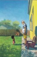Carte Postale MONIN Arno L'adoption Grand Angle Librairie Les Arts Frontières 2016 - Postcards