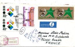 POLOGNE. N°2913 De 1987 Sur Enveloppe Ayant Circulé. Esperanto. - Esperanto