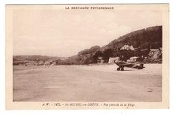 22 COTES D'ARMOR - SAINT MICHEL EN GREVE Vue Générale De La Plage - Saint-Michel-en-Grève