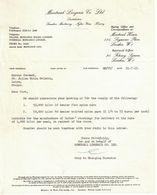 1963 MONTREAL LINGERIE CO LTD 124 SEYMOUR PLACE LONDON - Factures & Documents Commerciaux