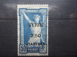 VEND TIMBRE DE SYRIE N° 125 , NEUF SANS GOMME !!! - Syrie (1919-1945)