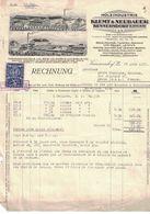 1937 HOLZINDUSTRIE KLEMT & NEUBAUER KUNNERSDORF B. ZWICKAU C.R.R. - Factures & Documents Commerciaux