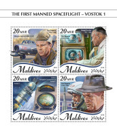 Maldives 2018  Space Flight – Vostok 1  S201809 - Maldives (1965-...)
